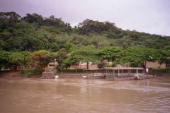 Beni river at Rurrenabaque (flood in february 2001).