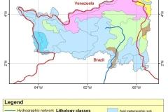 Lithological map.