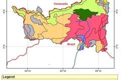 Soil type map.