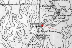 Location of the ORE sampling point at Caracaraí.