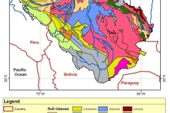 Soil type map.