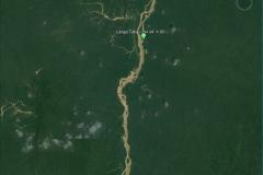 Satellite image of the Maroni basin at the Langa Tabiki outlet.