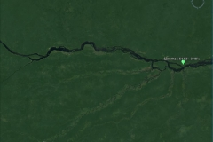 Satellite image of the Negro basin at the Serrinha outlet.
