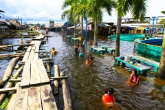 © Santini, William - IRD - Puerto Nanay, Iquitos flooding 2012