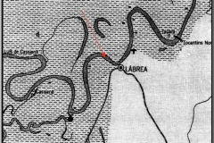 Location of the Hybam sampling point upstream from Labrea.