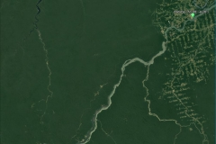 Satellite image of the Tapajós basin at the Itaituba outlet.