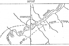 Location of the Itaituba gauging station on Tapajós river.