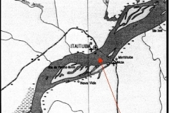Location of the ORE sampling point at Itaituba.